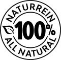 100% naturrein